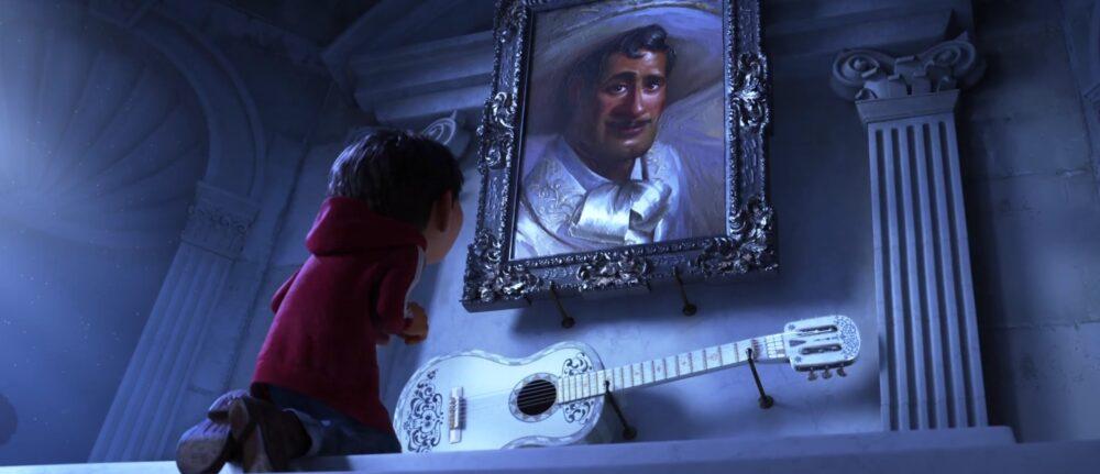 リメンバー・ミー-エルネスト・デラクレスの墓にあるギター