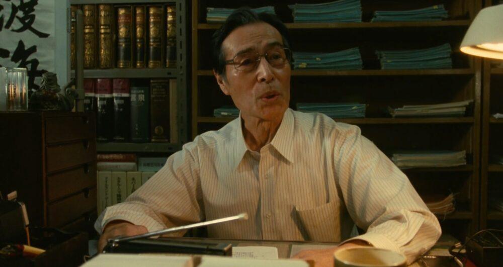 舟を編む-松本先生